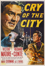 Poster for Cry Of The City