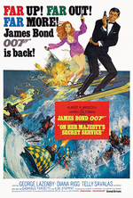 Poster for On Her Majesty's Secret Service