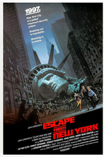 Poster for Escape from New York