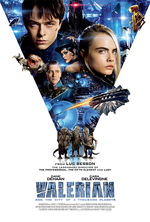 Poster for Valerian and the City of a Thousand Planets
