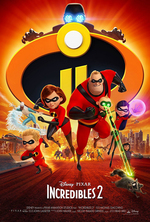 Poster for Incredibles 2