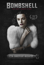 Poster for Bombshell: The Hedy Lamarr Story (Free Screening)