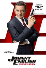 Poster for Johnny English Strikes Again