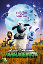Poster for A Shaun the Sheep Movie: Farmageddon